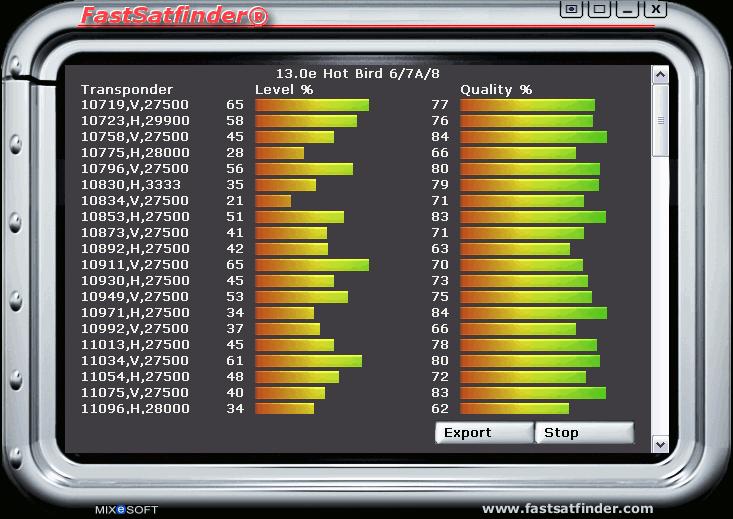 Fastsatfinder 2.7.0